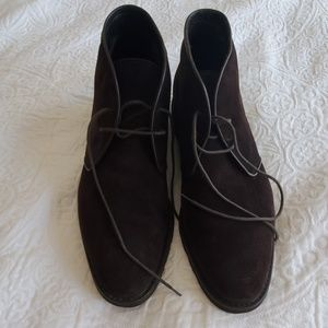 Bruno Magli Brown Suede Boots